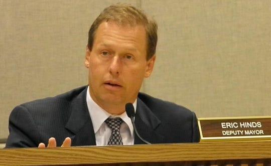 Former Holmdel Mayor Eric Hinds