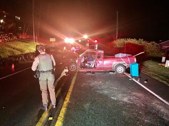 Indianola Road crash