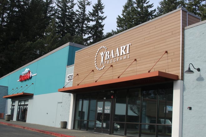 The BAART clinic located on 1520 Riddell Road in Redwood Plaza. The new clinic, which is expected to open this month, will provide medication-assisted treatment for people with opioid addictions.