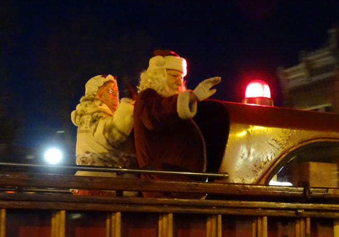 Bucyrus welcomed Santa Claus to town in 2019 during the annual Bucyrus Kiwanis-Rotary Santa Parade. After the parade was canceled this year due to the coronavirus pandemic, planners decided to plan a special Santa-only parade that will weave its way across town on Dec. 12.