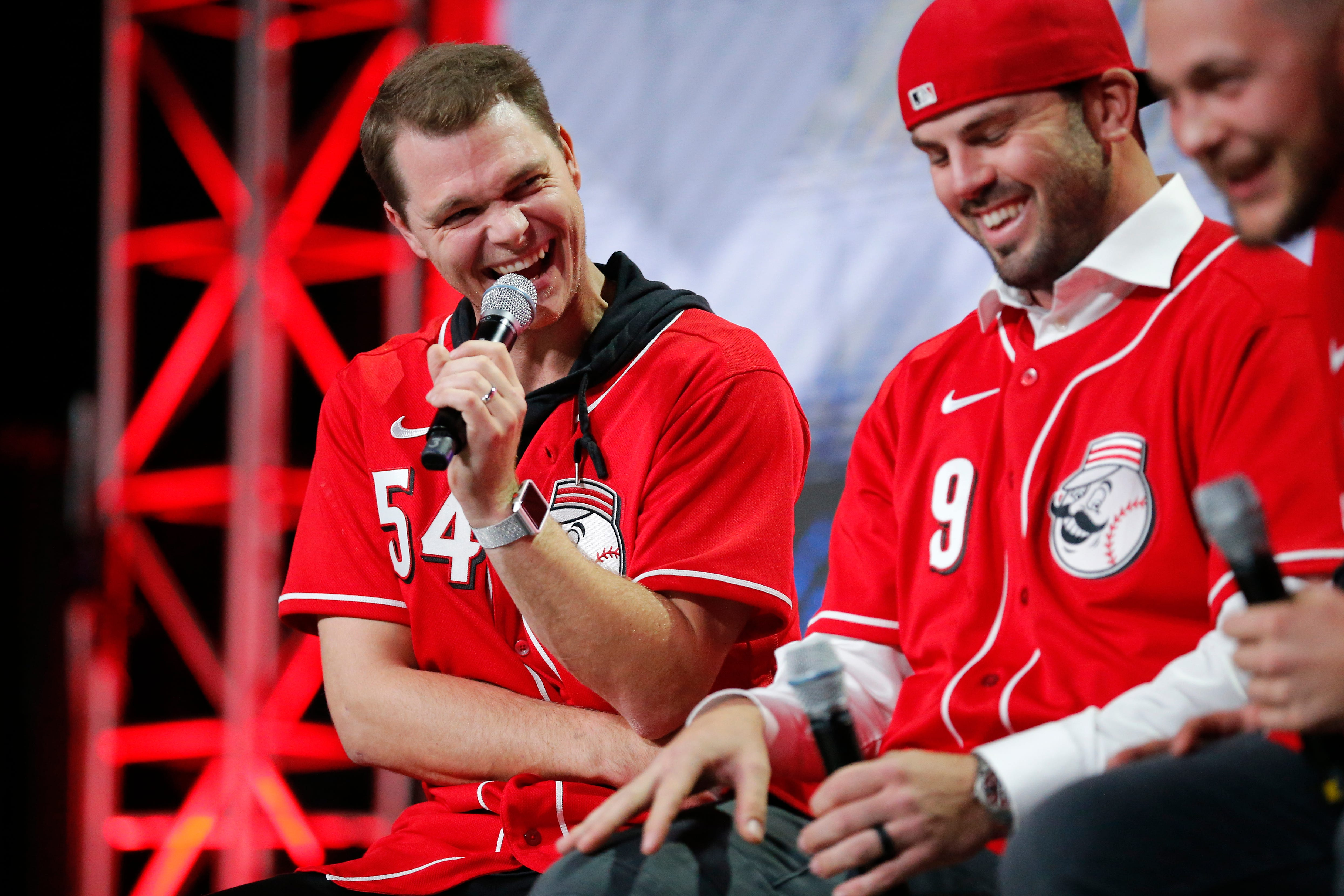 Photos: Mike Moustakas and the Cincinnati Reds kick off the 2020 MLB season at Redsfest