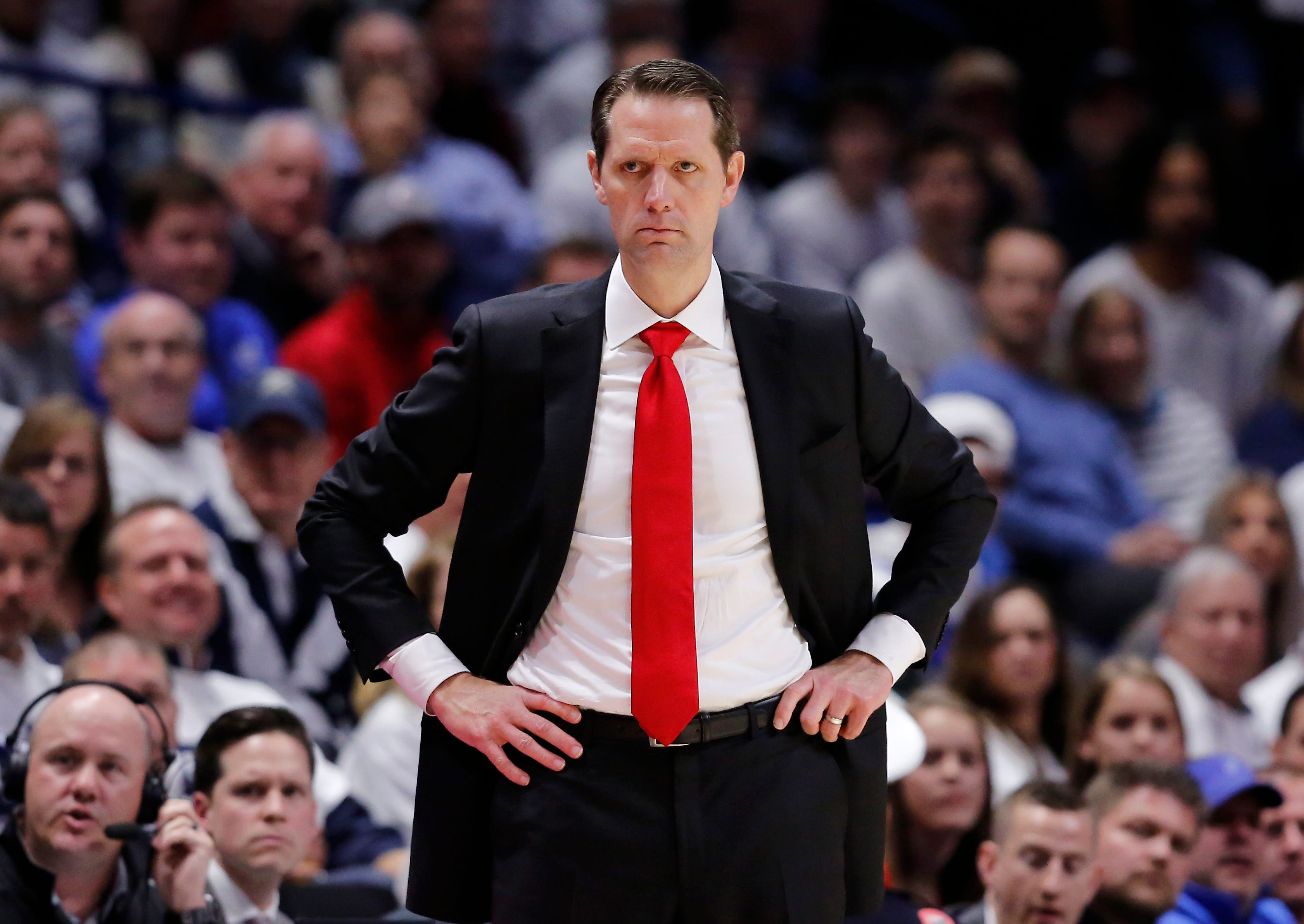Fired men s basketball coach John Brannen sues Cincinnati. Here s what s in the filing.