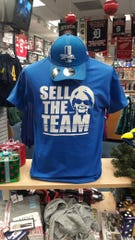 """Lions """"Sell The Team"""" T-shirt from The DLine."""