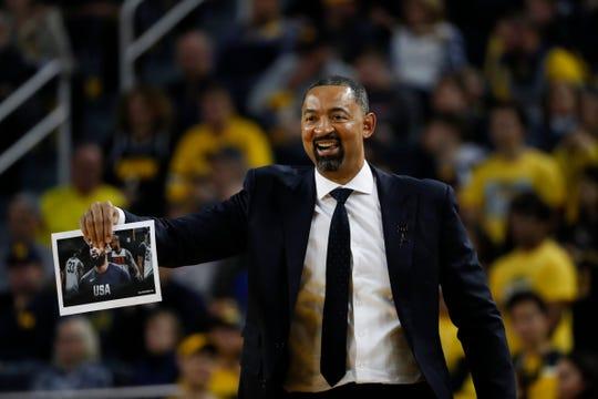 Fab Five member Juwan Howard returned home to coach the men's basketball team.