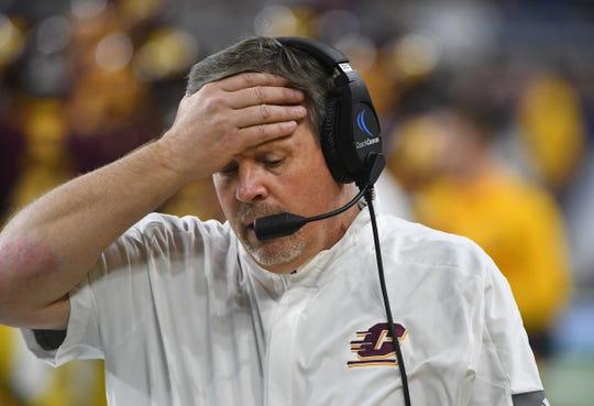 CMU coach Jim McElwain.