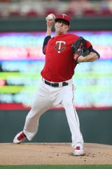 Kyle Gibson was 13-7 with a 4.84 ERA in 34 games with the Twins last season.