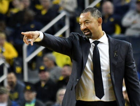 Michigan coach Juwan Howard went 5-1 against Michigan State during his playing days.