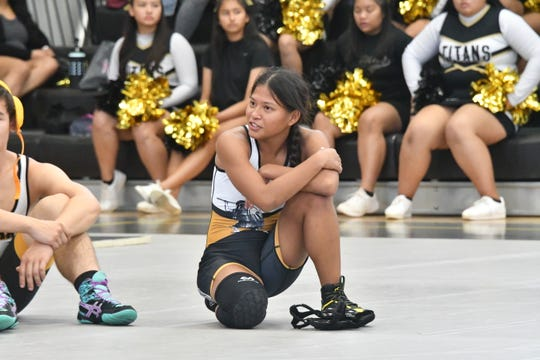 Tiyan High School senior Tiara Fernandez says she never wants to take the easy way out of things. After graduation, she has her sights set on a career in the Air Force as an elite soldier.