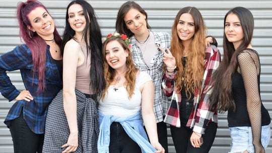 Six sisters make up Cimorelli, the vocal group that will perform a pop-and-holiday show at the Preston Arts Center on Saturday, Dec. 14.