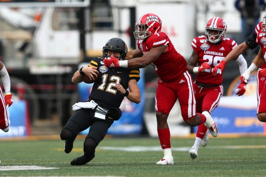 Now 0-8 against them all-time, UL linebacker Ferrod Gardner and the Ragin' Cajuns still can't figure out how to take quarterback Zac Thomas and nationally Appalachian State.