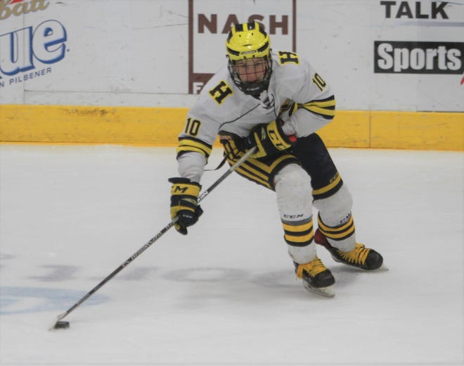 Adam Pietila had two goals and two assists for Hartland in an 8-2 victory over Hancock.