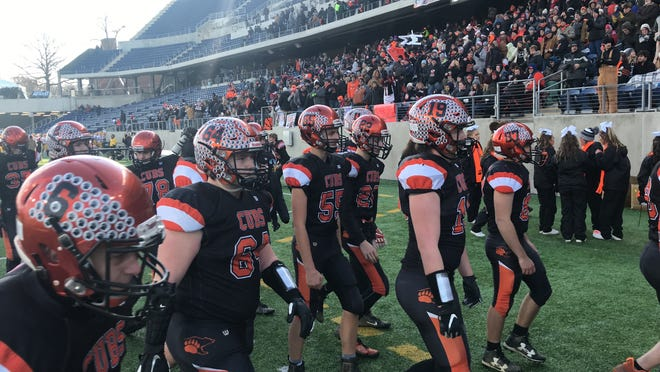 The Lucas Cubs reached the Division VII state championship game last season at Tom Benson Hall of Fame Stadium in Canton, but one of the biggest challenges for the team is finding schools that will play them.