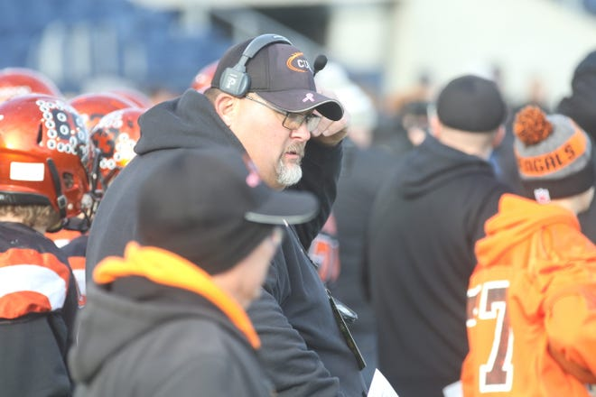 """Lucas coach Scott Spitler, who led the Cubs to the Division VII state championship game last fall, wonders how big the playoff field can get without losing its """"special"""" feel"""