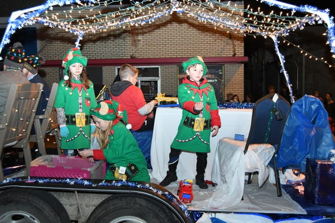This year's Mountain Home Area Chamber of Commerce Christmas parade had more entries and participants than ever before.