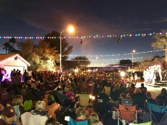 """More than 400 people attended the """"Christmas on Canary"""" event in 2018."""