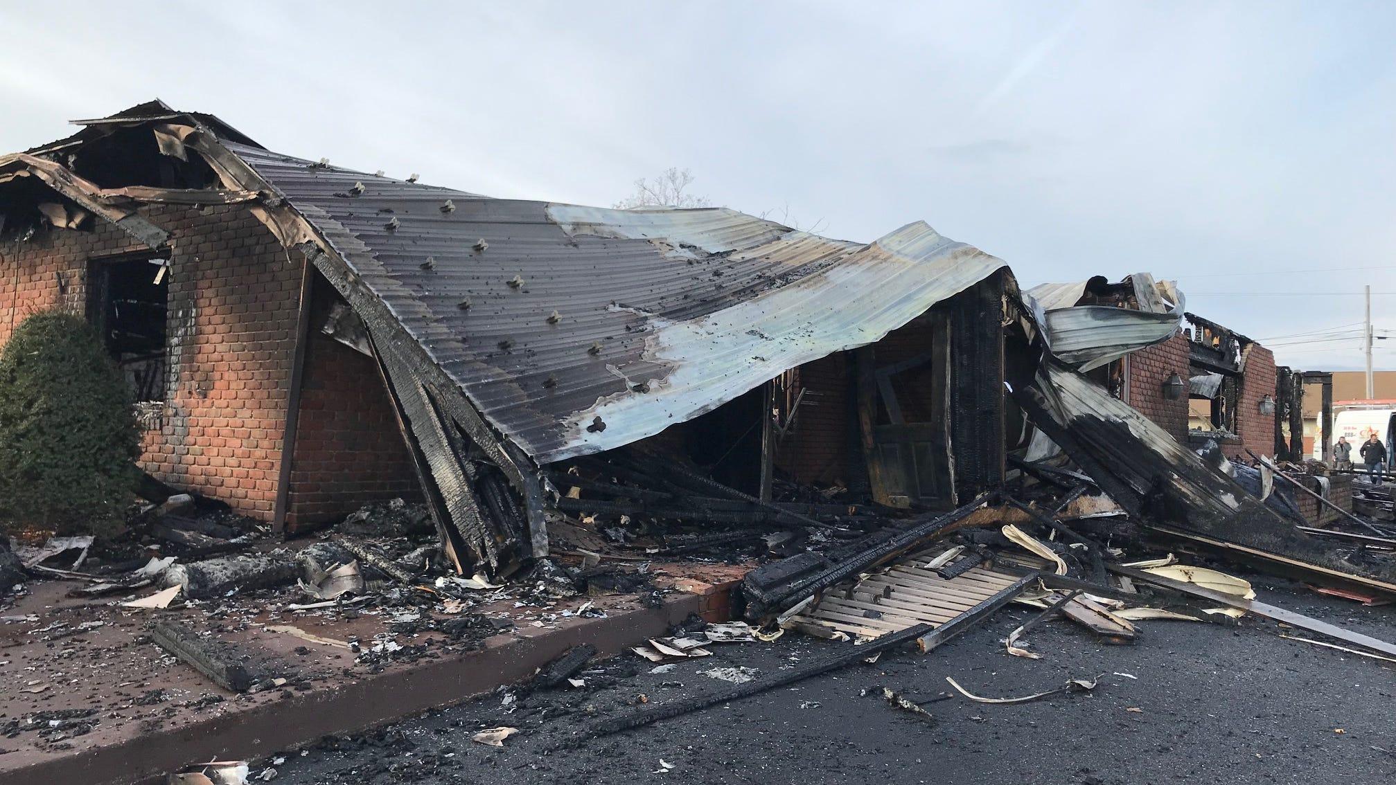 Fire rips through Ono Family Restaurant