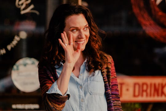"Actress Hilarie Burton in a scene from ""A Christmas Wish"" on the Lifetime cable network."