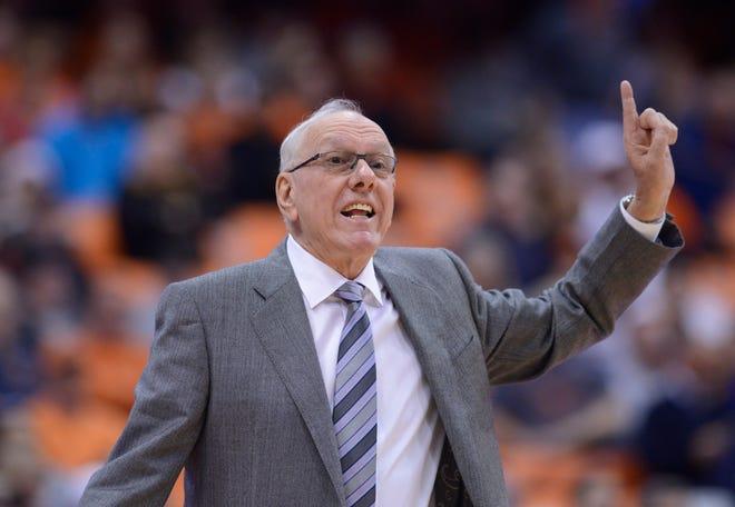 Syracuse Orange head coach Jim Boeheim