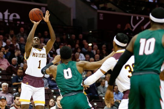 The Missouri State Bears took on the Mississippi Valley State Delta Devils at JQH Arena on Friday, Dec. 6, 2019.