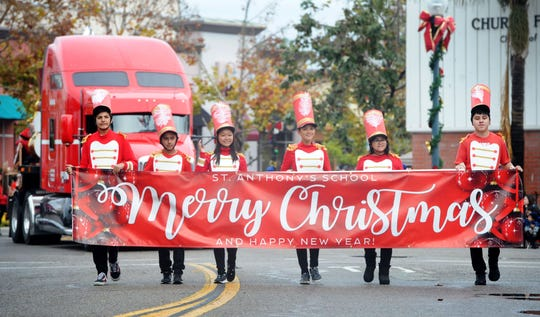 Oxnard embraced its holiday traditions earlier this month during the downtown Christmas parade.