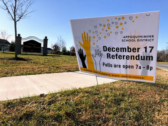 Appoquinimink School District is holding a referendum on Dec. 17.