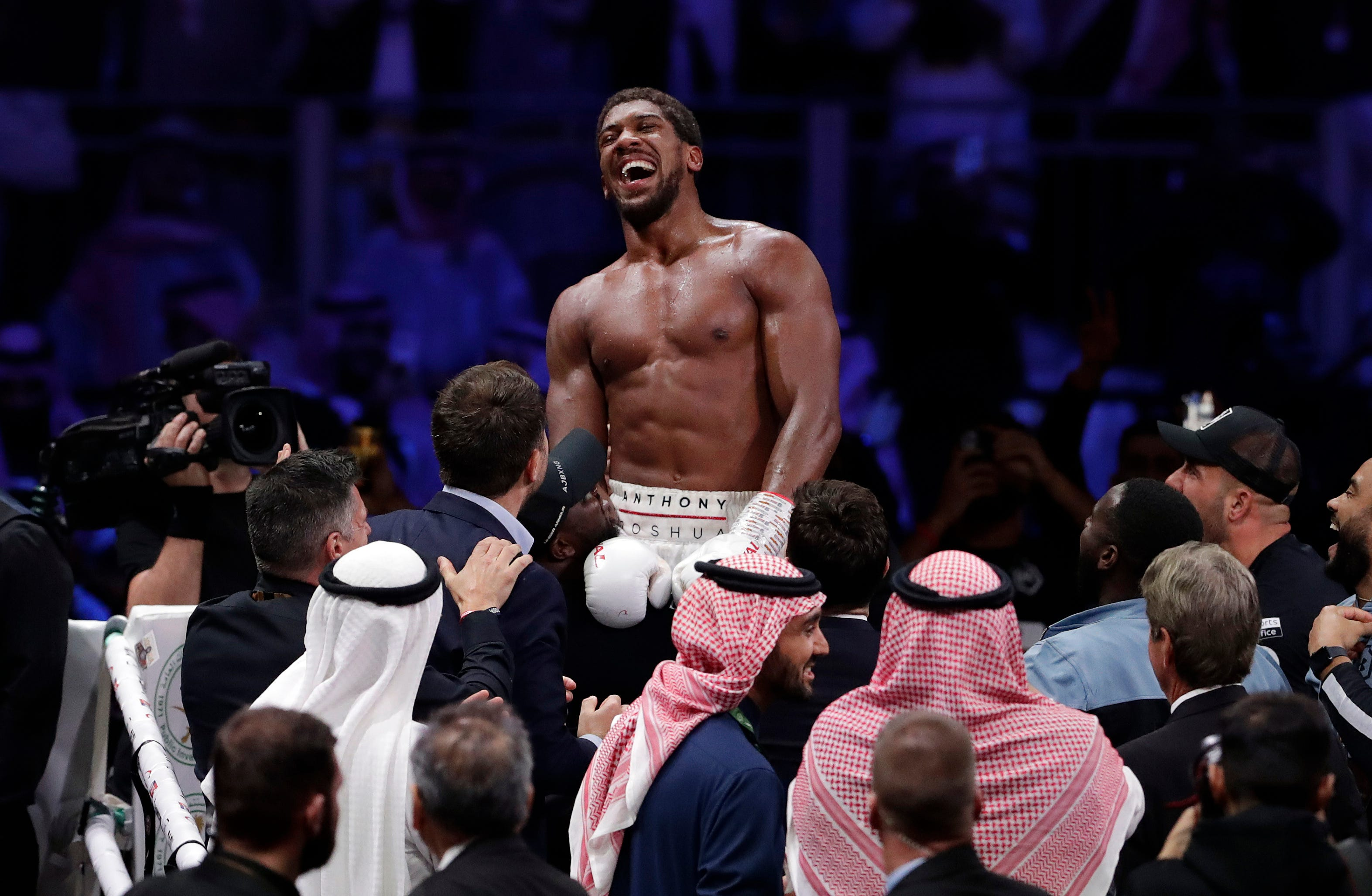 Anthony Joshua beats Andy Ruiz Jr. by unanimous decision: Round-by-round of heavyweight rematch