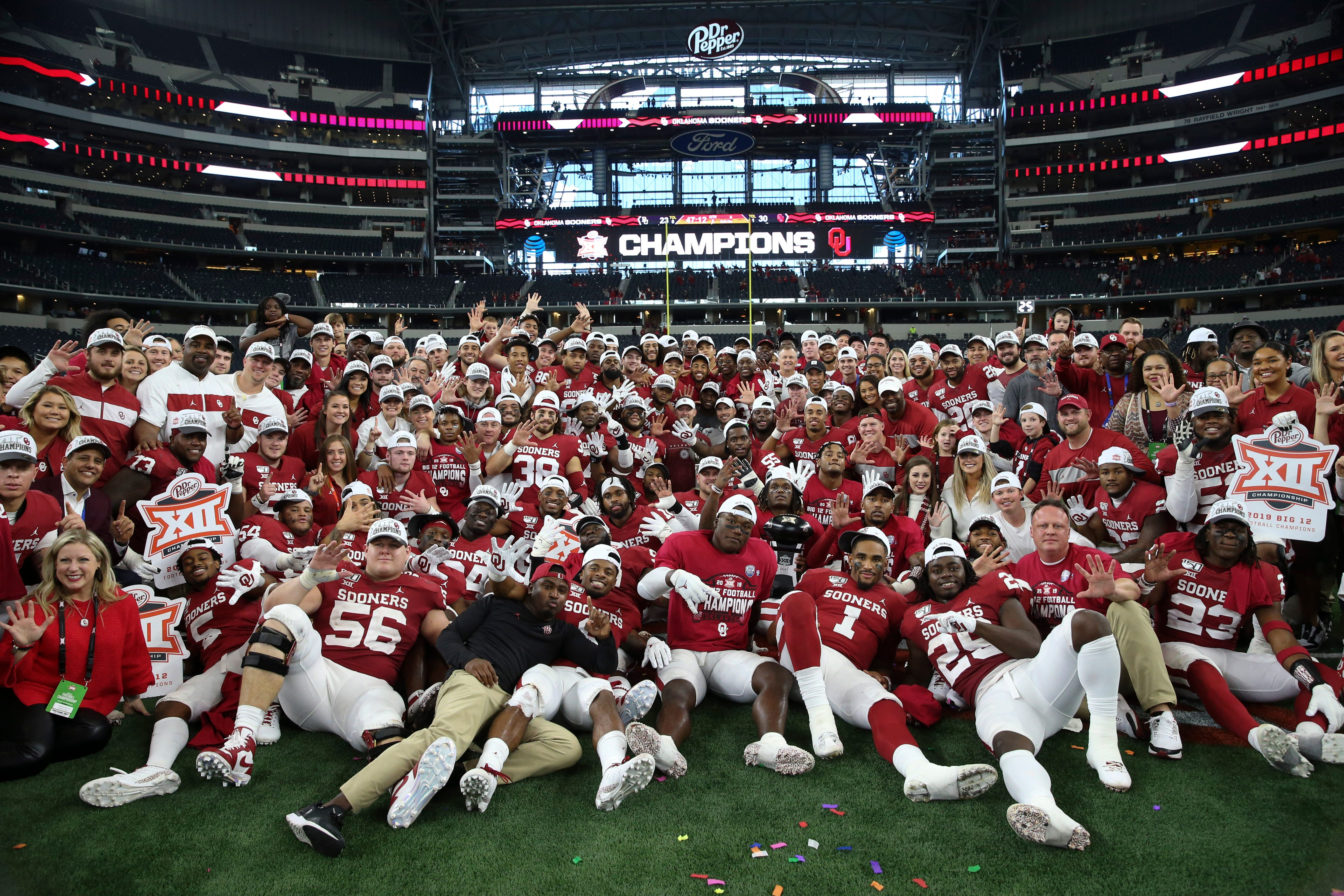 Winners and losers from Week 15 in college football led by Oklahoma, LSU and Georgia