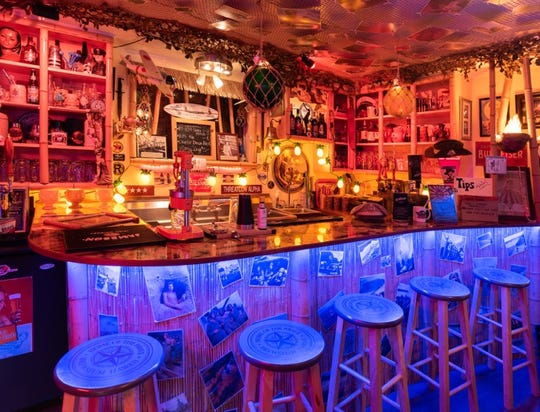 The Wiki Waki Woo Speakeasy was named one of the top 12 tiki bars in the country by Yelp.
