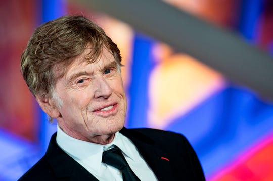 US actor and director Robert Redford attends the 18th edition of the Marrakech International Film Festival on Dec. 6, 2019, in Marrakech.