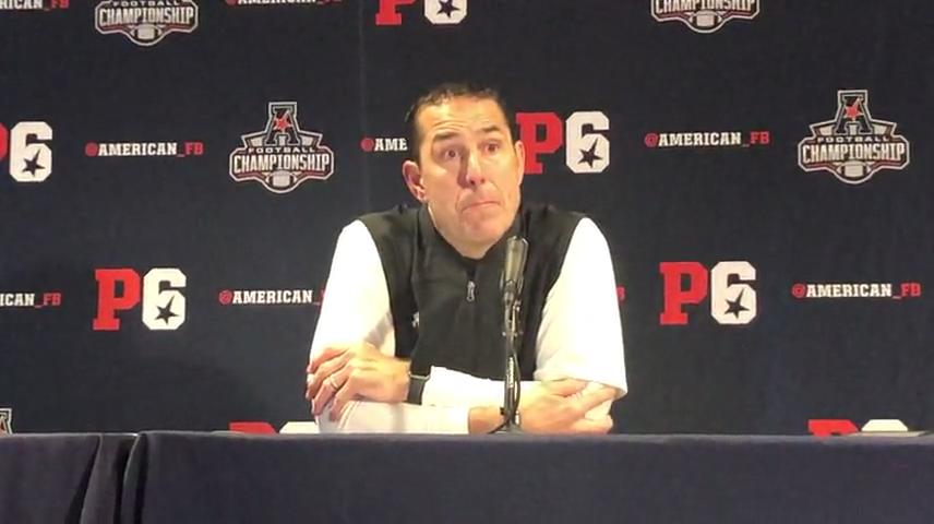 UC football's Luke Fickell talks Bearcats' AAC title loss at Memphis