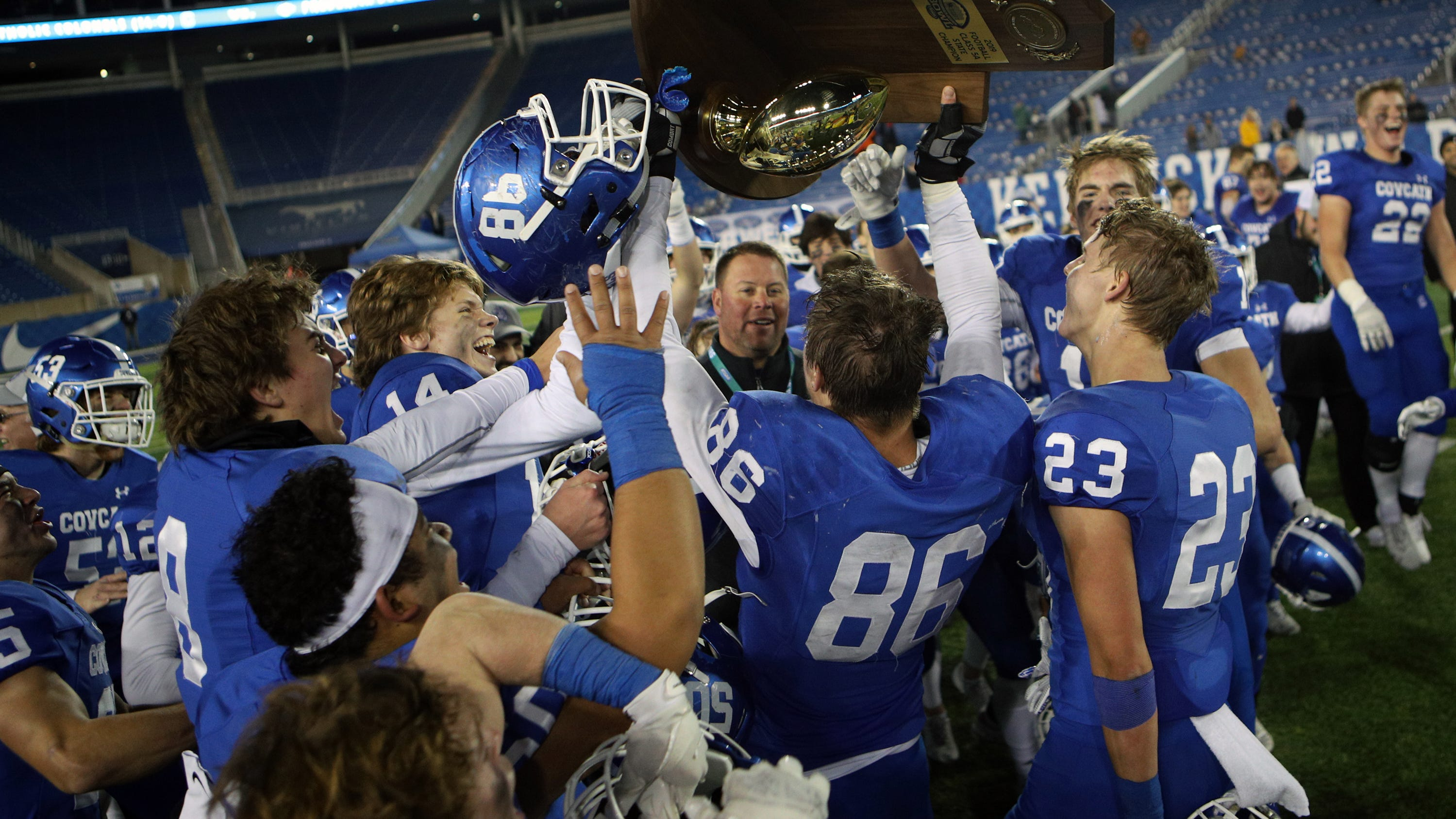 CovCath football wins 2nd state title in 3 years