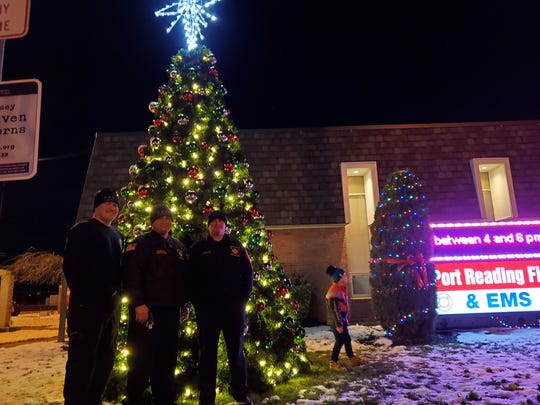 Port Reading Christmas Tree Lighting Ceremony