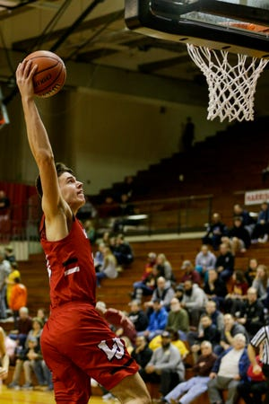 Brooks Barnhizer's double-double helped Lafayette Jeff knock off Marion.