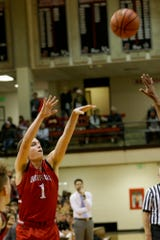 Avery Beaver made 6 of 11 3-pointers against Heritage Hills in the Hall of Fame Classic on Saturday.