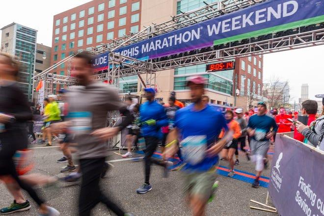 Scenes from the 2019 St. Jude Memphis Marathon Weekend on Saturday, Dec. 7, 2019.