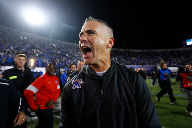 Memphis Football Coach Mike Norvell Through The Years