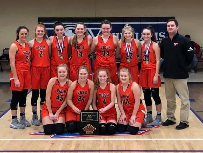 The Viola Longhorns won the championship of the Williams Baptist Invitational with wins over Corning, Tuckerman and Marmaduke.