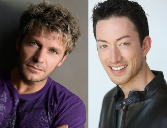 Vic Mignogna, left, and Todd Haberkorn are two of the special guests at Sono Con on Dec. 14 and 15 in Montgomery.