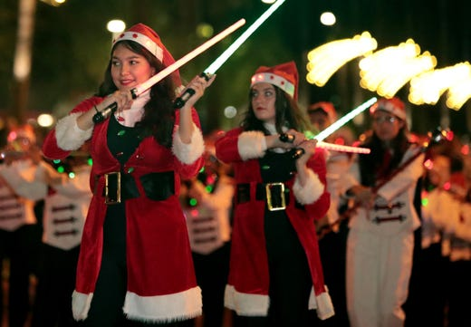 27th annual Palm Springs Festival of Lights takes over downtown
