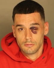 Chad Michael Howard, charged with aggravated assault, possession with intent to deliver drugs, resisting arrest, DUI,  driving with suspended license and exceeding maximum speed limit by 18 MPH.