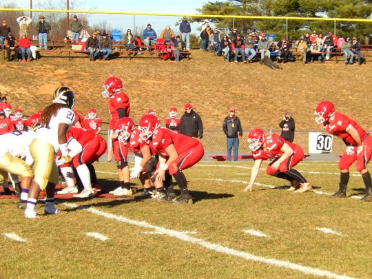 Riverheads lines up against Essex Saturday in the Class 1 state semifinals.