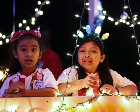 The annual Indiantown Chamber Christmas Parade on Saturday, Dec. 7, 2019, along SW Osceola Street in Indiantown.