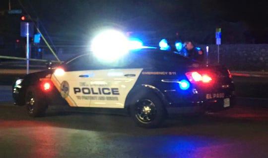 El Paso police car. File art