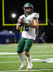 Quarterback R.J. Maria has thrown for 2,774 yards and 33 touchdowns in helping Pacifica High reach a state football championship game.