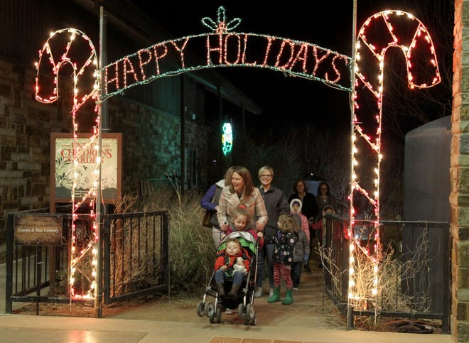 Children and adults enjoy the ElectriCritters tradition of more than 60,000 lights on nearly 200 displays at River Bend Nature Center. This year, all displays will be outside and it will begin Nov. 27.