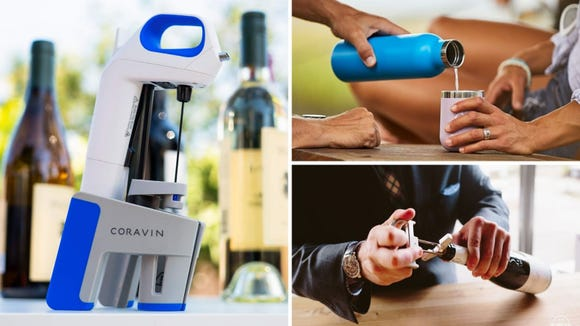 Best gift for wine lovers 2019: Coravin, Hydro Flask Wine Bottle, and a Durand