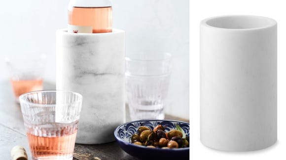 The best gifts for wine lovers 2019: Marble Wine Chiller from Williams Sonoma