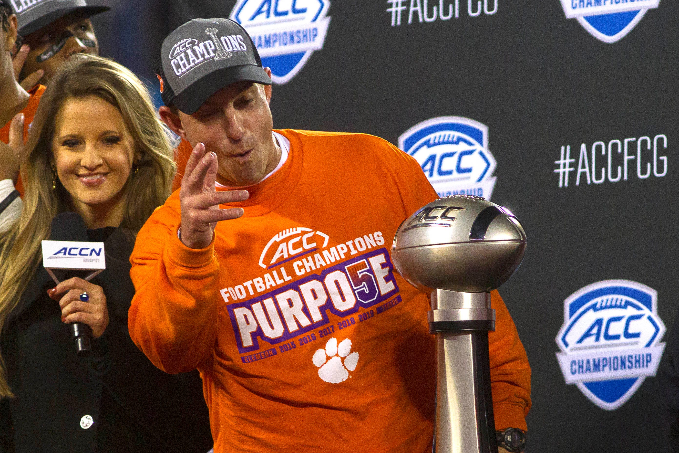 Dabo Swinney: Clemson disrespected by No. 3 seed in College Football Playoff