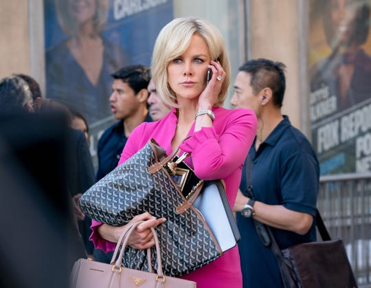 "Nicole Kidman stars as Fox News anchor Gretchen Carlson in ""Bombshell."""