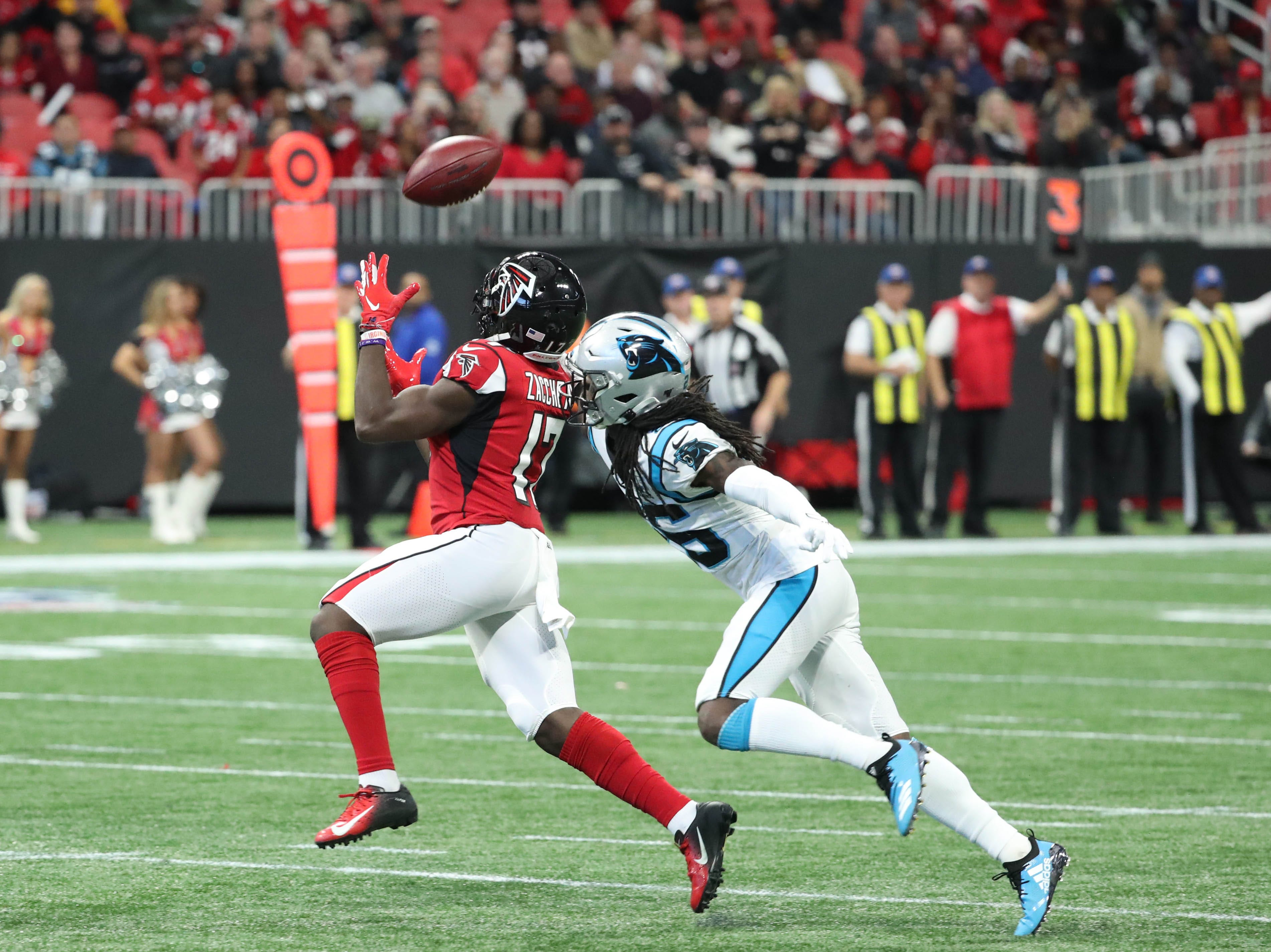 Panthers CB Donte Jackson rips own team's 'horrible' calls in loss to Falcons